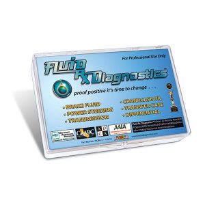 Multi-Fluid Spot Test Kit w/Diesel Motor Oil (Box of 100). Diagnostics for Brake, Power Steering, Transmission, Crankcase & Gear Oils. Contains 100 Six Spot Test Sheets w/ ISO Laboratory Comparison Charts & Includes One Fluid Sampling Tool. Product #70240-2